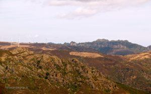 Il Monte Arbu di Tertenia (842 mt. s.l.m.) dal versante occidentale.
