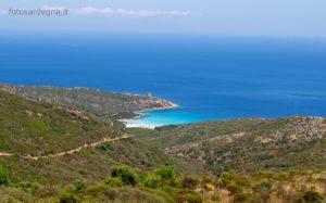 Torre Arena, Isola dell'Asinara, e la sua bellissima, incontaminata e super protetta spiaggia.