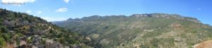 La Valle del Pardu e la meravigliosa cornice dei Tacchi di Osini, Ulassai e Jerzu.