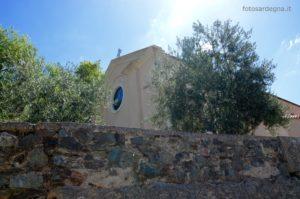 La Chiesa di Sant'Elena si trova nella parte più alta di Gairo Vecchio