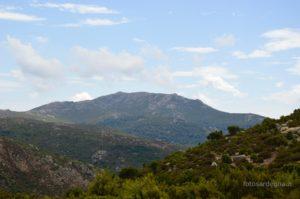 Monte Olinie (1.370 mt. s.l.m.).