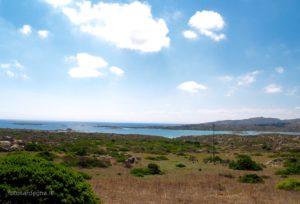 La costa bassa in località Tumbarino.