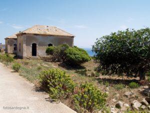 Edifici abbandonati a Trabuccato, località sulla costa nei pressi de La Reale.