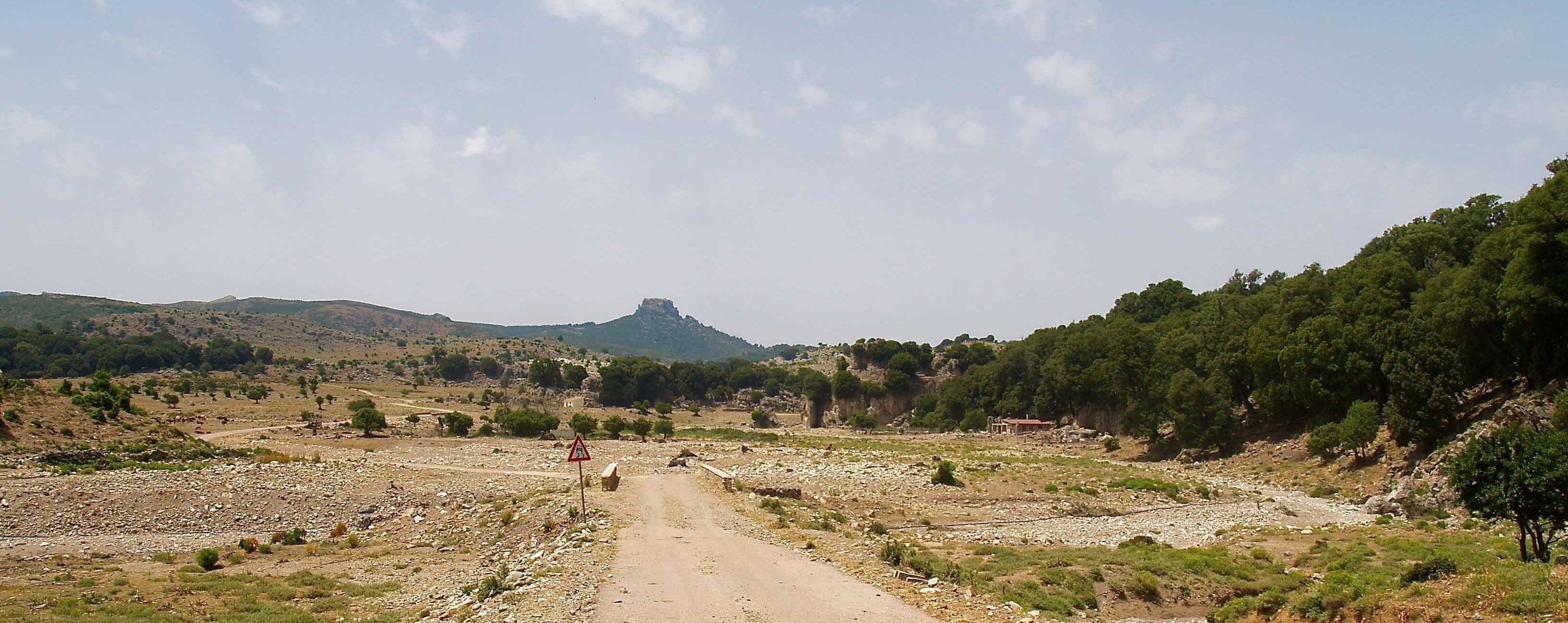 Fennau, vista del Monte Novo San Giovanni.