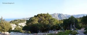 Buchi Arta, ampia panoramica mare e monti.