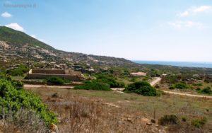 Gli edifici in località Tumbarino, ora adibiti ad OsservatorioFaunistico ed Ornitologico.